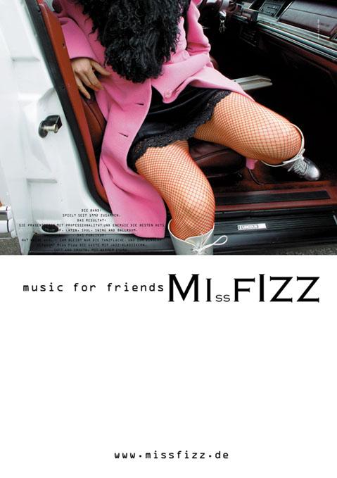 Plakat MIssFIZZ Band